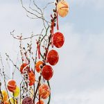 Another centuries-old tradition in Austria and Germany is to decorate trees (or branches) with Easter eggs.  The origins of this tradition have been lost, but the eggs symbolise new birth and growth.Photo: Jerry Barton