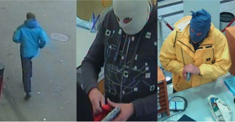 Robber gives Austrian police the slip for 8 years