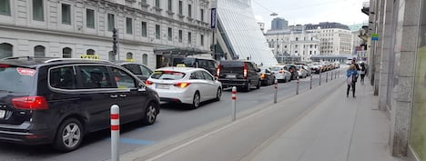 Vienna taxis protest Uber as 'unfair'