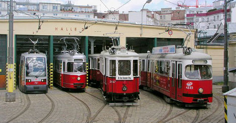 Six fun facts about public transport in Vienna