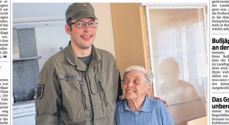 Hero soldier rescues OAP from burning house