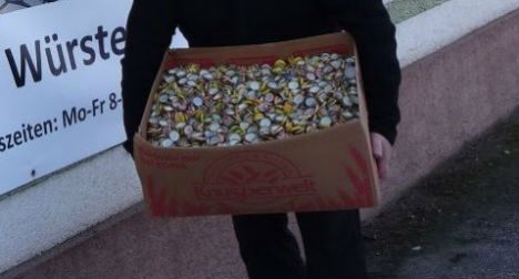 Austrian collects 10 million bottle caps for a good cause