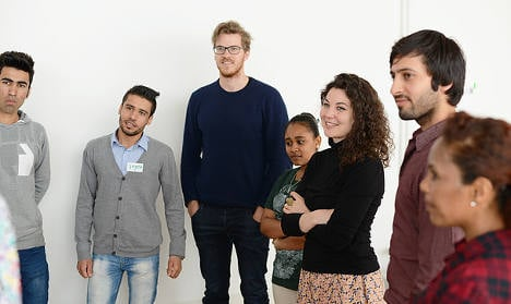 Huge turnout at Austria's first job fair for refugees