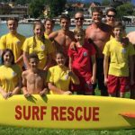 Hasselhoff shows Austrian lifeguards how it's done
