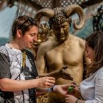 Second day of bodypainting festival highlights