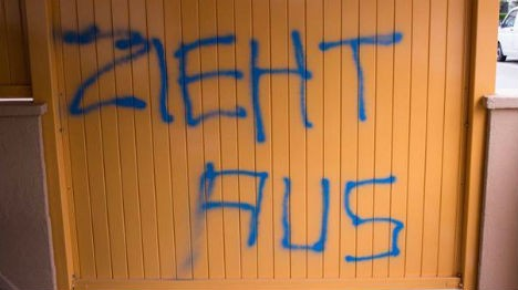 Austrian charged for carving swastikas onto own body