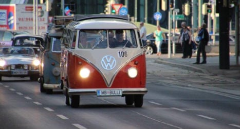 A weekend of classic cars in Vienna