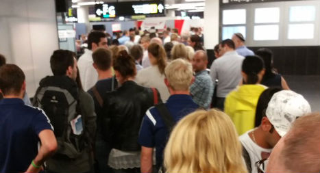 Technical glitch causes chaos in Vienna airport