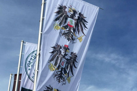Eagle clutches bananas in new version of Austrian coat of arms
