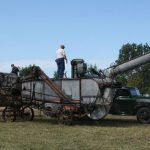 Woman's legs reattached after threshing machine horror