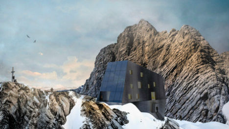 Tyrol's alpine huts: From grand hotel to futuristic cubes