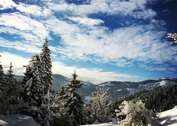 Clear skies and colder temperatures for the New Year