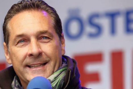 Leader of Austria's far-right Freedom Party calls for 'zero immigration'