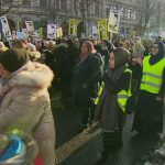2,000-strong protest in Vienna against veil ban