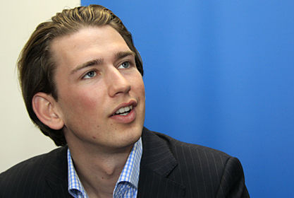 Kurz 'understands' why Trump promised to build a wall