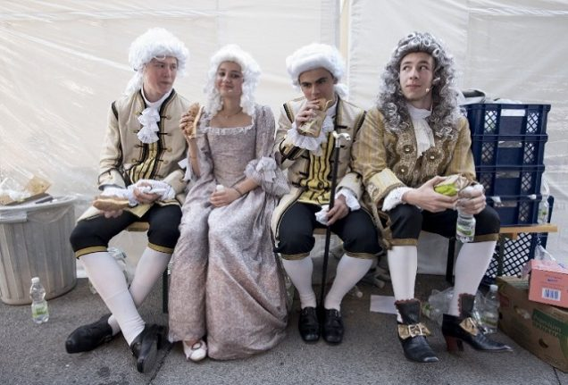 IN PICTURES: Austria celebrates only female ruler of the Hapsburg empire