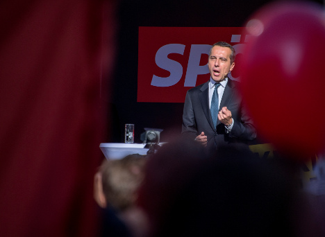 Austrian chancellor in last-ditch election warning