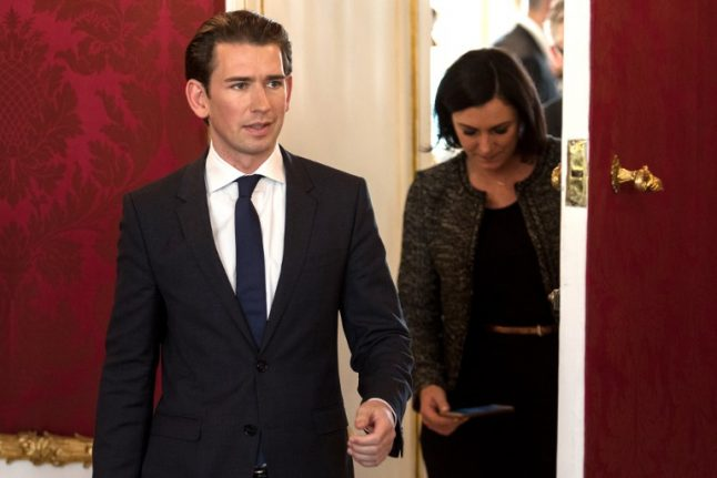 Election winner Kurz says Austria 'must play an important role in the EU'