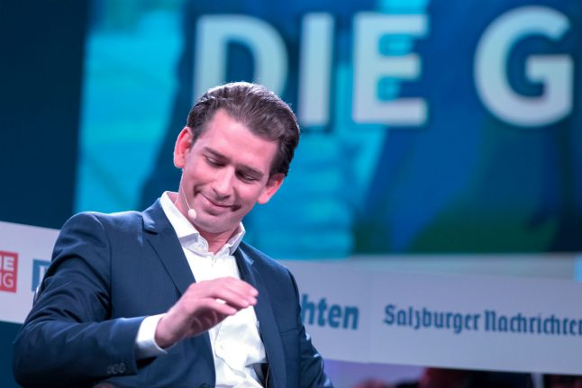 'Whizz-kid' Kurz on course to become Chancellor and move Austria to right