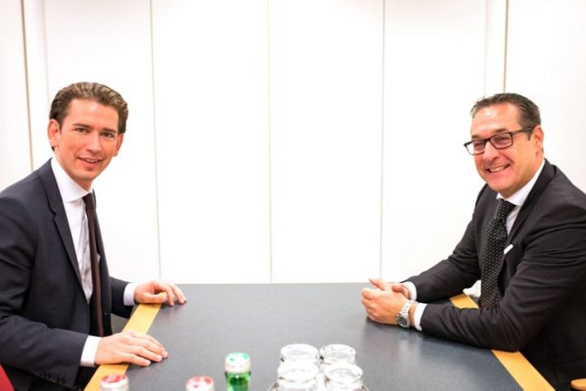 Sebastian Kurz predicts his coalition with the far right will be wrapped up by Christmas