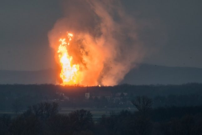 Austrian gas hub fully operational again after deadly explosion