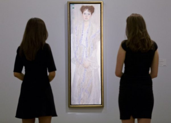 'Lost' Klimt drawing discovered in Austria