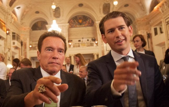 Schwarzenegger tells Trump to 'join us' on climate action