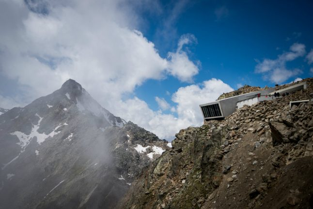 From Austria with love: new Alpine lair for 007 opens
