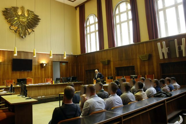 Austrian far-right militants go on trial on racism charges