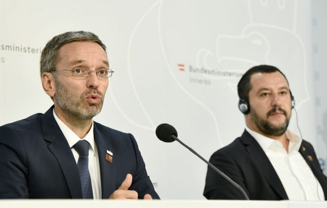 Austria proposes migrant processing at sea