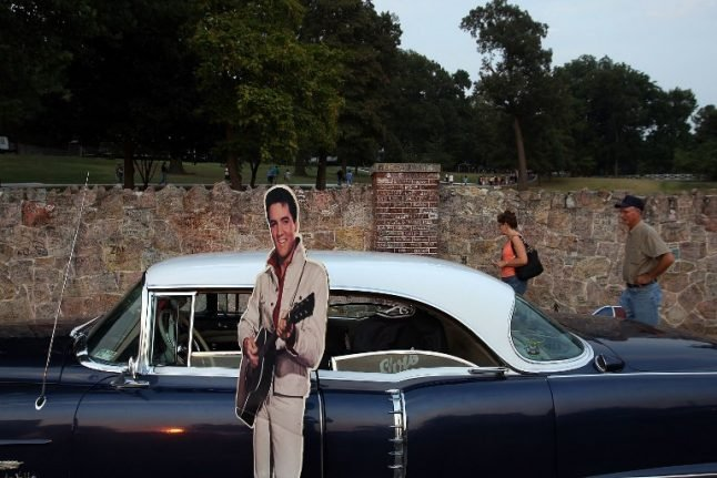 Elvis' last Cadillac up for sale in Austria