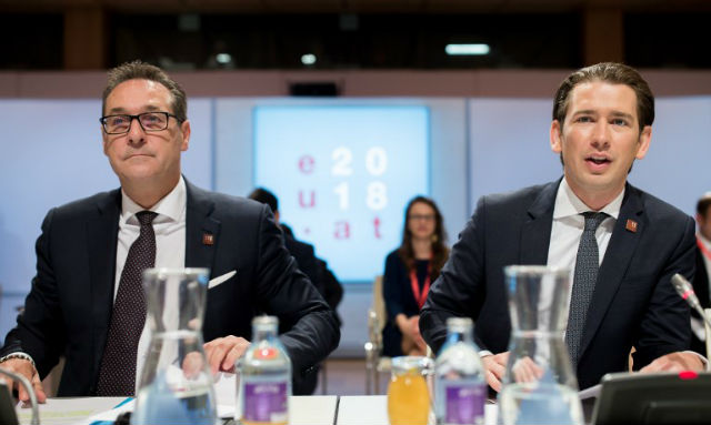 The long Honeymoon of Austria's right-wing alliance