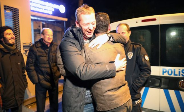 Austrian student released from Turkish prison