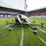 A short first hop for 'drone taxi' in Vienna