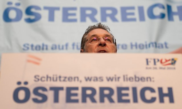Austria's far-right leader hits back in racist conspiracy theory row