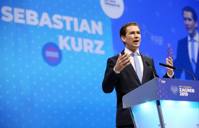 Austria's Kurz sees new government by early next year