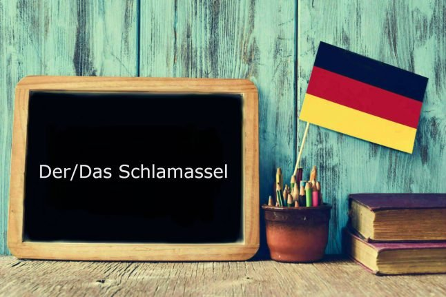 German word of the day: Der/Das Schlamassel