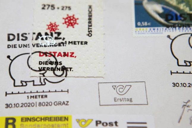 Austria's coronavirus stamps made from toilet paper go on sale