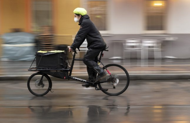 Why are bike couriers delivering coronavirus tests in Austria?