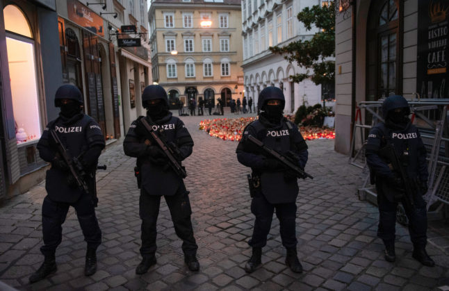 Two more arrests made in Austria over Vienna terror attack