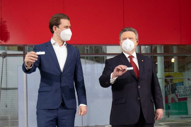 'Entry tests': Austria approves mandatory coronavirus testing for events
