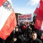 IN PICTURES: Thousands protest against coronavirus measures in Vienna