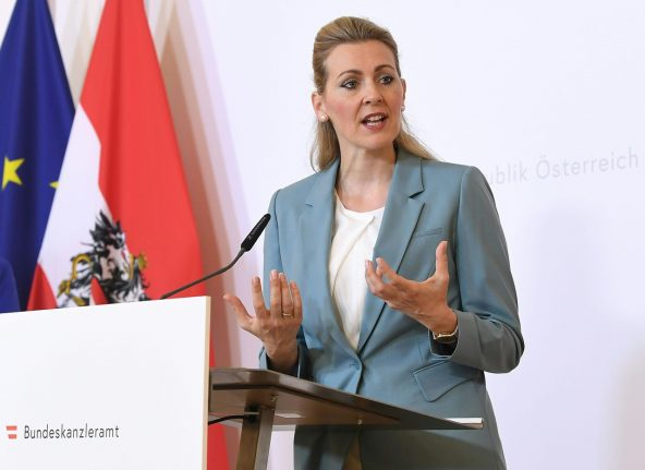 Austrian minister steps down over plagiarism accusations