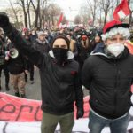 Vienna coronavirus protesters 'tried to storm and occupy Austrian Parliament'