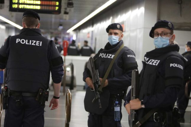 Austria's draft anti-terror law provokes sharp criticism