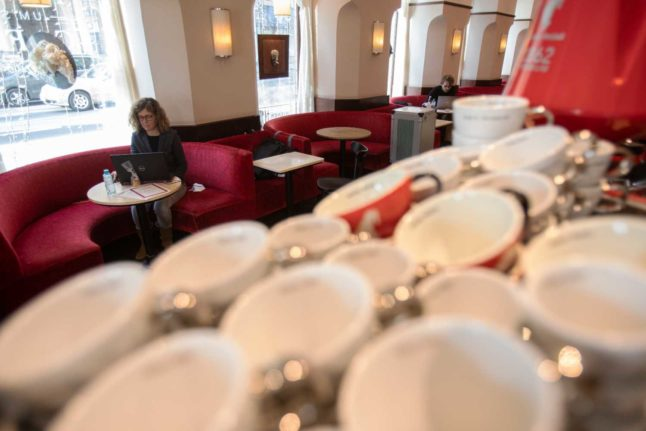 How students have made Vienna's empty cafes a study haven