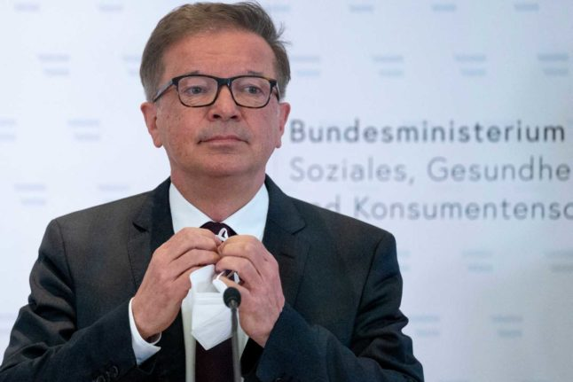'15 months has felt like 15 years': Why Austria's health minister called it quits
