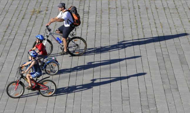 There has been a boom in bike sales in Austria (Photo by ALEXANDER KLEIN / AFP)