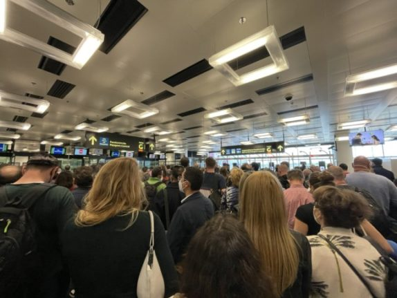 Austria's easing of border restrictions leads to chaos at Vienna airport