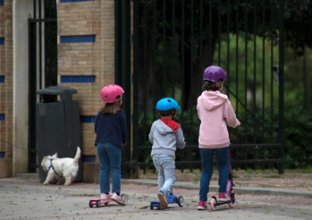 What are kids allowed to do alone under Austrian law?
